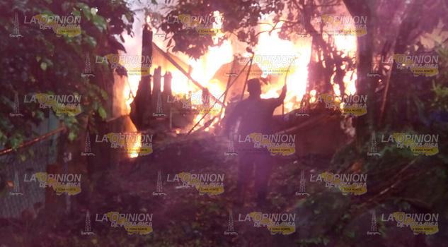 Incendio Consume Humilde Vivienda