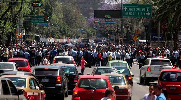 Galería: Edificios colapsan tras sismo en la Ciudad de México