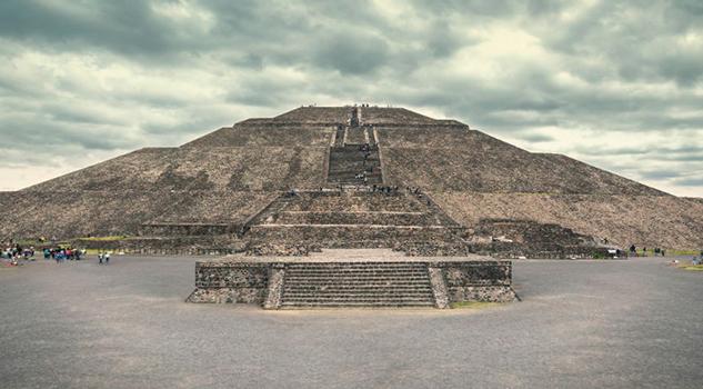 Teotihuacán a través de fotografías