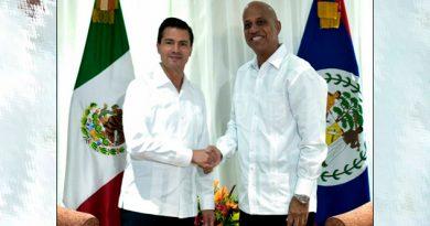 Acuerdan México y Belice
