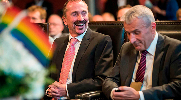 Alemania celebra su primera boda gay