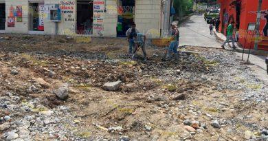 Continúan Trabajos Rehabilitación Pico Pala
