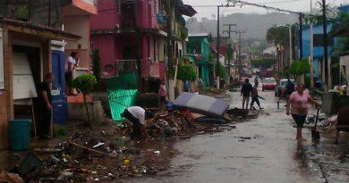 Declara Segob Zona Desastre Natural Municipios Veracruz