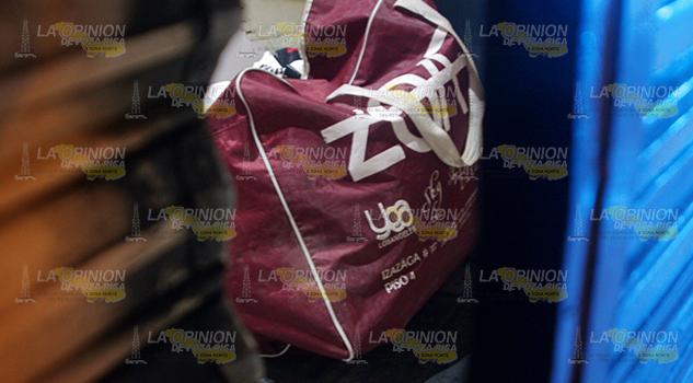 Delincuentes saquean céntrica tienda de ropa2