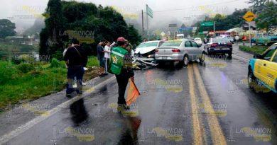 Fuerte Colisión México Tuxpan