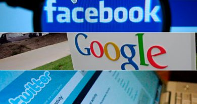 Gigantes Tecnológicos Facebook Google Twitter