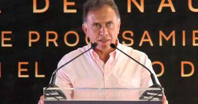 Inaugura Yunes Planta Marmolera Puerto Veracruz