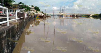 Incrementa Cause Río Tuxpan