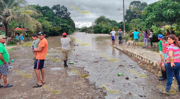 Buenavista Mesón Molino Devastado Desbordamiento Río
