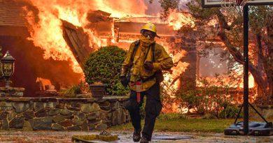 Muerto Evacuados Incendios Norte California