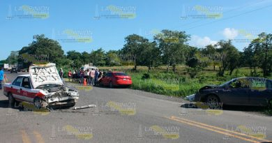 Brutal Accidente Automóvil Taxi Muerto Heridos