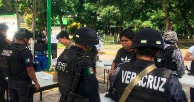 Operativo Policiaco Instituto Tecnológico Veracruz