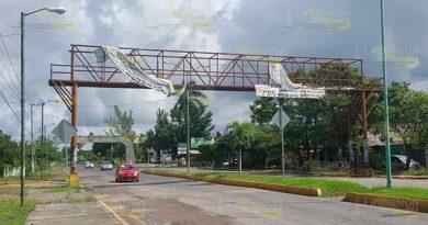Puente Peatonal Inservible