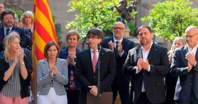 Puigdemont No Aclara Independencia Cataluña