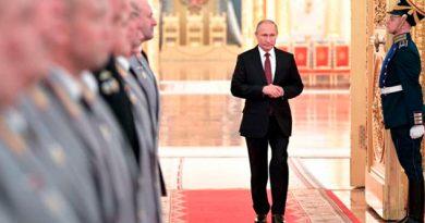Putin Participa Maniobras Militares Rusas