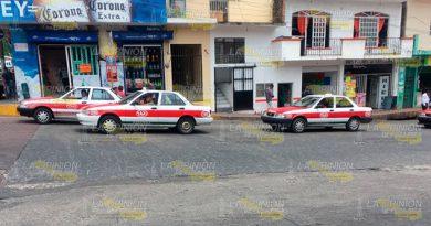 Quitarán Concesiones Taxistas Papantla