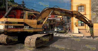 Rehabilitación Calle Papantla