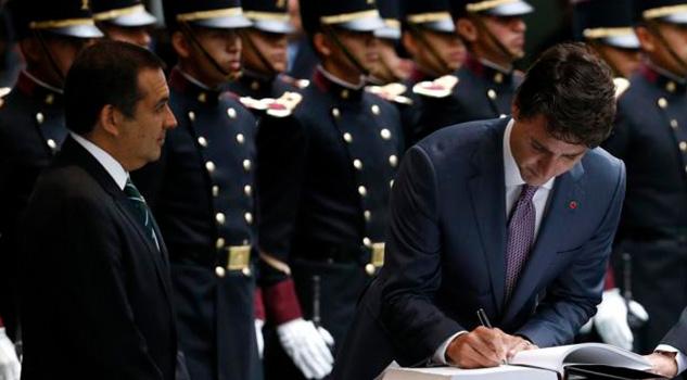 Respeto Base Amistad México Trudeau