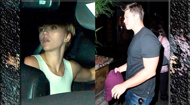 Scarlett Johansson y Colin Jost hacen su debut como pareja por primera vez en un evento público