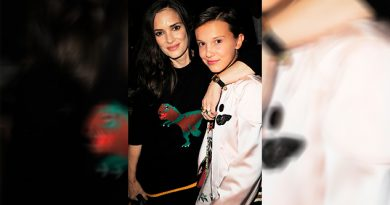 Winona Ryder Millie Bobby Brown