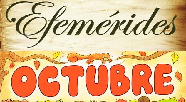 Efemerides hoy 8 de octubre la opini n de poza rica for Gimnasio 8 de octubre