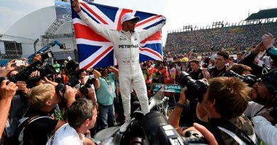 on un susto de aquellos, Hamilton es campeón de F1 en México