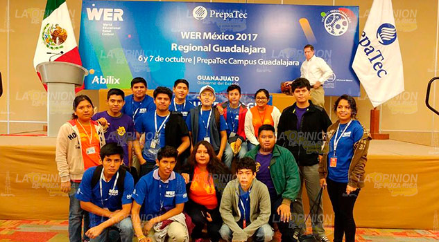 Alumnos zamoreños Buscan pase al concurso mundial de robótica