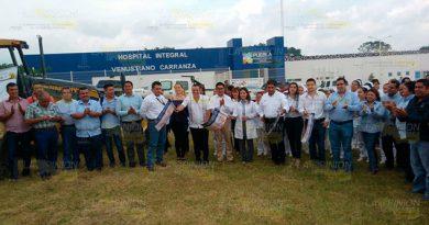 Alcalde Banderazo Obra Acceso Hospital Integral