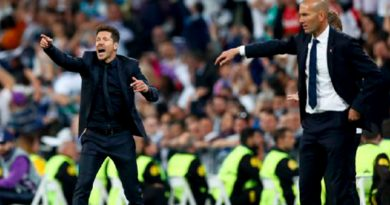 Cholo Simeone Lanza Dardo Real Madrid