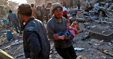 Civiles Muertos Bombardeo Mercado Zona Rebelde Siria