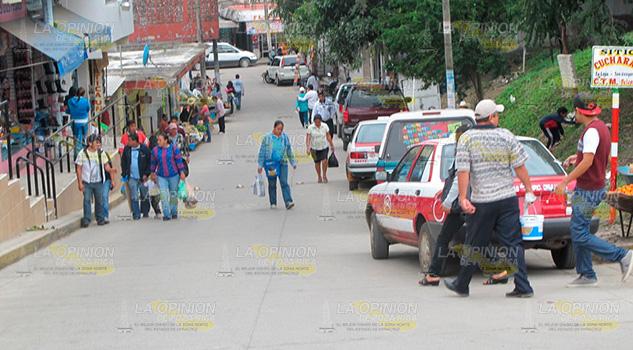 Comercio Informal Invade Arterias Zona Centro