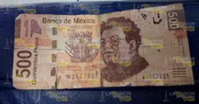 Detectan Billetes Falsos