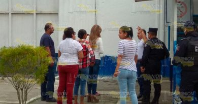 Ingresan Cereso Tuxpan Integrantes Varios Colectivos