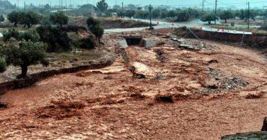 Inundaciones Bíblicas Devastación Muertos Grecia