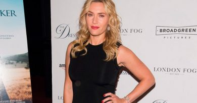 Kate Winslet Besa Boca Famosa Actriz Hollywood