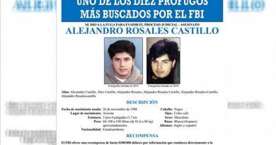 Ofrece FBI Recompensa Latino Escondido Aguascalientes