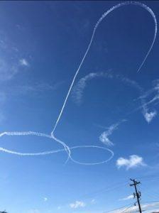 Piloto Armada Realiza Dibujo Inapropiado