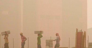 Respirar Aire Delhi Equivale Fumar Cigarrillos Día
