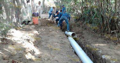 Rompió Línea Abastece Agua Cerro Azul