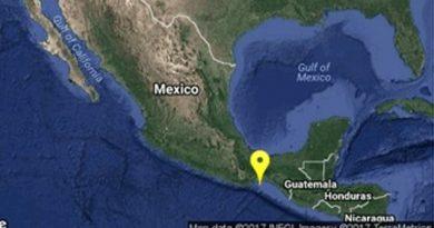 Sismo Suroeste Salina Cruz Oaxaca