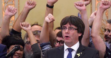 Solicitan Detención Puigdemont Otros Exconsejeros Catalanes