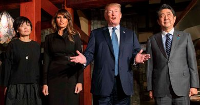 Trump Advierte Corea Norte Llegada Japón