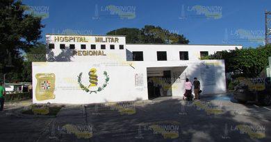 Urge Nuevo Hospital Militar