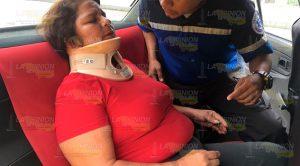 Accidente Automovilístico Resultado Mujer Lesionada