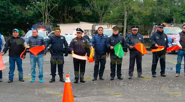 Banderazo Operativo Guadalupe Reyes Venustiano Carranza
