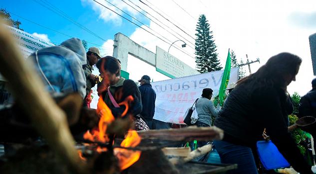 Campesinos Denuncian Corrupción Sagarpa