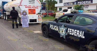 Detiene PFP Pipa Gasolina Robada