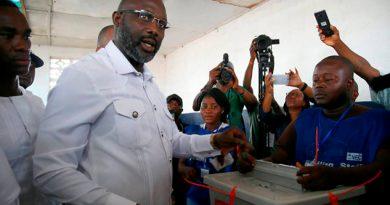 Exfutbolista George Weag Elegido Presidente Liberia