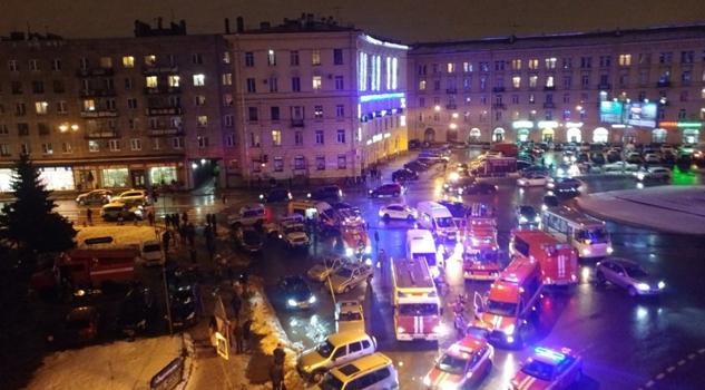 Explosión San Petersburgo Rusia Varios Heridos