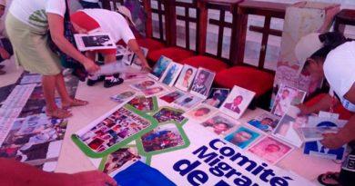 Llega Coatzacoalcos Caravana Padres Migrantes Centroamericanos